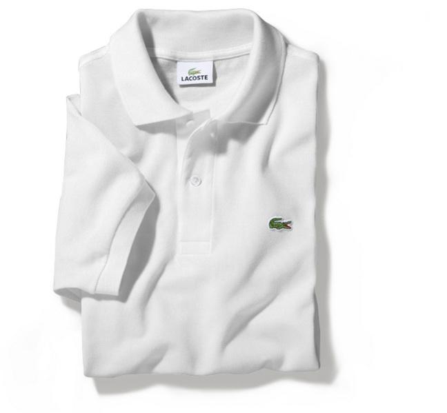 81a0ff558aac Мужская рубашка футболка поло LACOSTE белая.