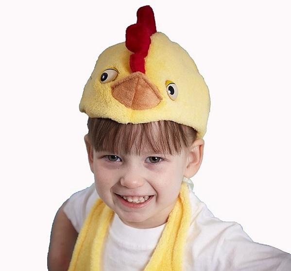 Как сделать шапочку цыпленка своими руками из картона