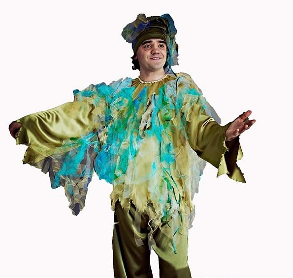 Как сделать костюм водяного своими руками фото