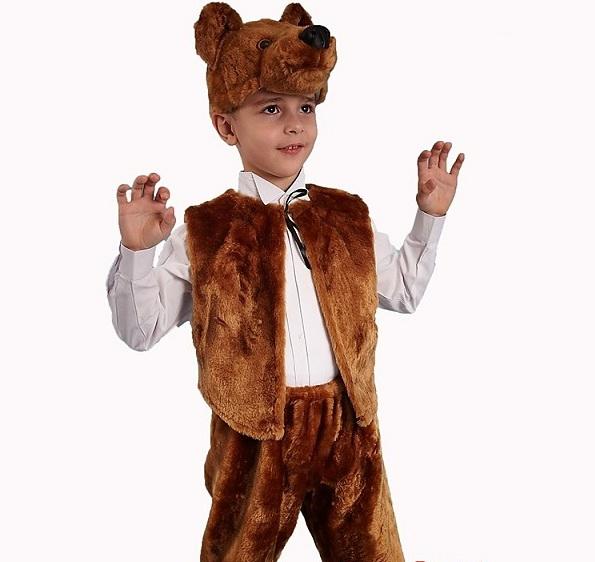 Новогодний костюм медведя своими руками фото