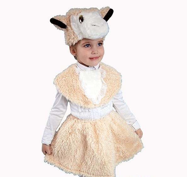 Костюм овцы на новый год своими руками