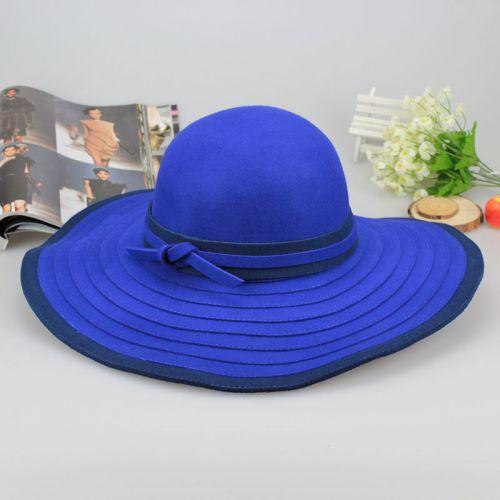 фото синяя шляпка