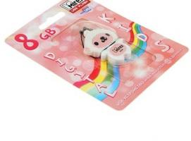 USB-флешка 8 Gb Mirex SHEEP PINK, овечка