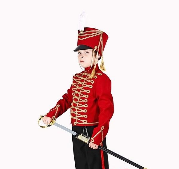 Карнавальный костюм гусара для мальчика своими руками