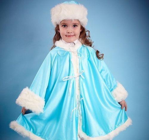 Как сделать костюм снегурочки для девочки
